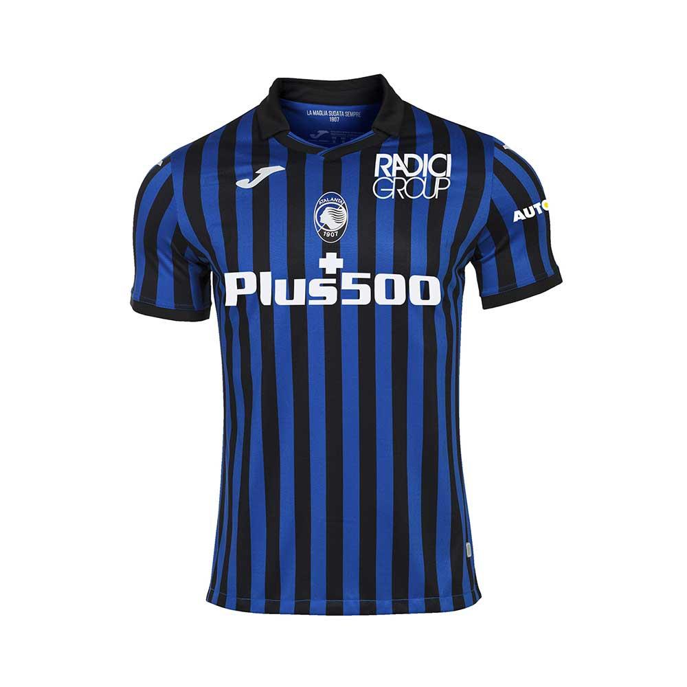 Joma Sport Maglia Calcio Atalanta Home 20/21 Nero Azzurro Bambino ...