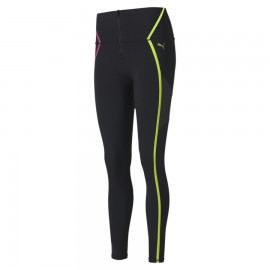 Puma Leggings Sportivi Train Logo Nero Donna
