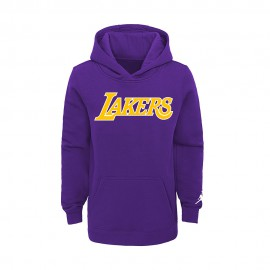 Nike Felpa NBA Jordan State Los Angeles Lakers Viola Bambino