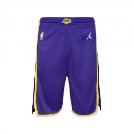 Nike Pantaloncini Basket NBA State Lakers Viola Bambino