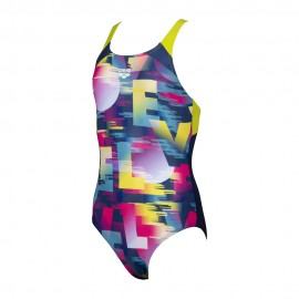 Arena Costume Intero Piscina Swin Love Multicolore Bambina