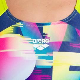 Arena Costume Intero Piscina Swin Love Multicolore Bambina