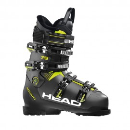 Head Scarponi da Sci Advant Edge 75 Nero Giallo Uomo