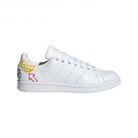 ADIDAS originals sneakers stan smith bianco multicolore donna