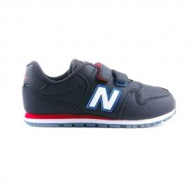 New Balance Sneakers 500 Velcro Blu Bianco Bambino