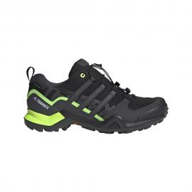ADIDAS scarpe hiking terrex swift r2 gtx core nero dgh solid grigio si uomo