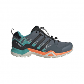 ADIDAS scarpe hiking terrex swift r2 gtx legacy blue core nero signa uomo