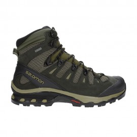 Salomon Pedule Trekking Quest 4d 3 Gtx Grape Leaf Peat Burnt Olive Uomo