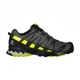 Salomon Scarpe Hiking Xa Pro 3d V8 Gtx Urban Chic Nero Lime Punc Uomo