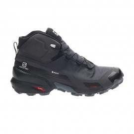 Salomon Scarpe Trekking Cross Hike Mid Gtx Phantom Nero Ebony Donna