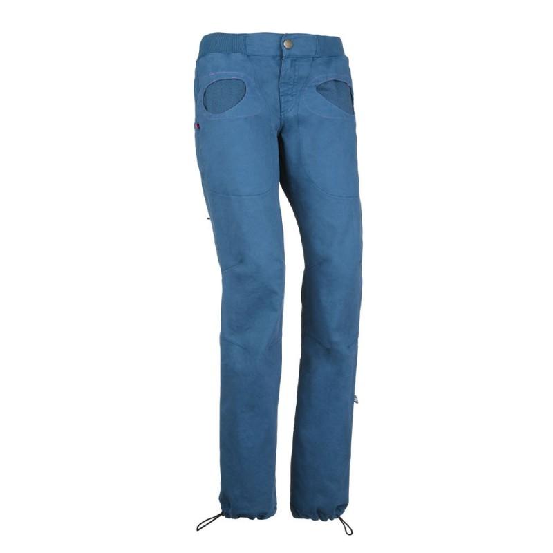 E 9 Pantaloni Arrampicata Donna Onda Slim2 Blu Donna