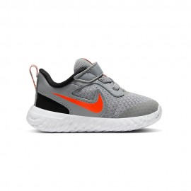 Nike Sneakers Revolution 5 Tdv Grigio Arancio Bambino