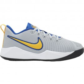 Nike Sneakers Team Hustle Quick 2 Gs Grigio Giallo Bambino