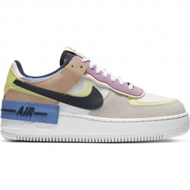 Nike Sneakers Air Force 1 Low Shadow Bianco Donna
