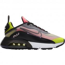 Nike Sneakers Air Max 2090 Nero Giallo Donna