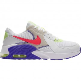 Nike Sneakers Air Max Excee Amd Gs Bianco Bright Crimson Bambino