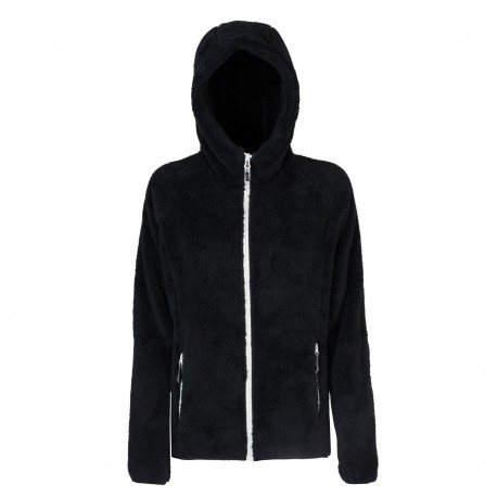 Rock Experience Pile Montagna Oldy Hoodie Nero Donna