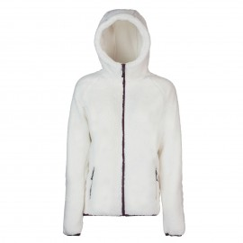 Rock Experience Pile Montagna Oldy Hoodie Marshmallow Donna