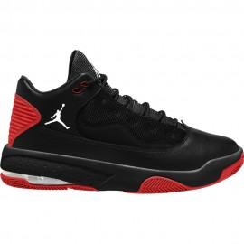 Nike Sneakers Jordan Max Aura 2 Nero Rosso Uomo