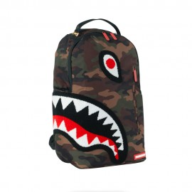 Sprayground Zaino Torpedo Shark Camouflage