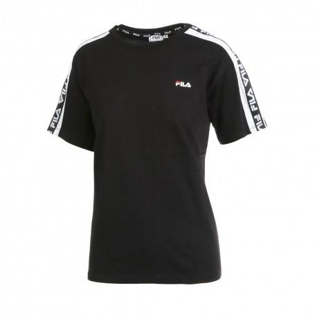 Fila T-Shirt Banda Nero Donna