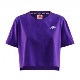 Kappa T-Shirt Crop Viola Donna