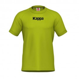 Kappa T-Shirt Banda Reflex Lime Uomo