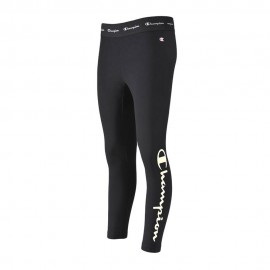 Champion Leggings Con Logo Nero Donna