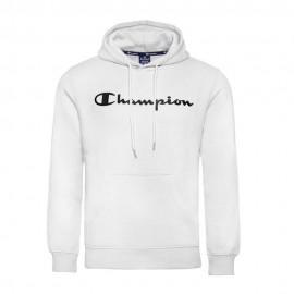 Champion Felpa Logo Bianco Uomo