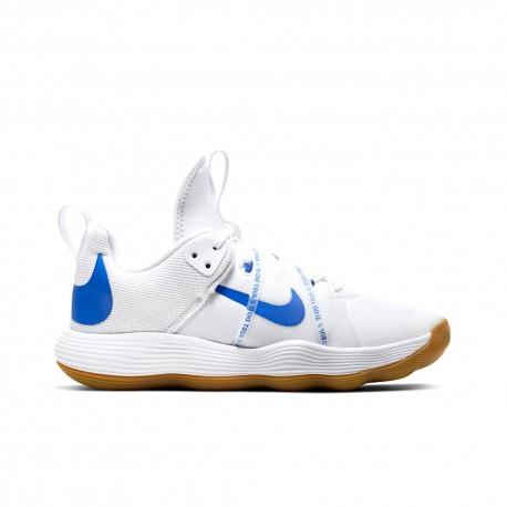 Nike Scarpe Pallavolo React Hyperset Bianco Blu Donna