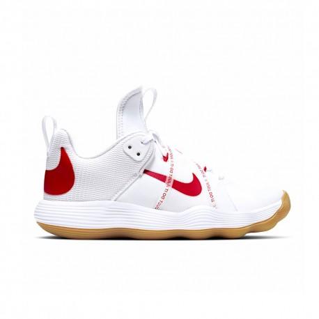 Nike Scarpe Pallavolo React Hyperset Bianco Rosso Donna