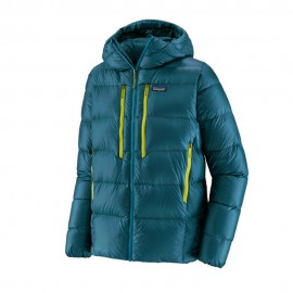 Patagonia Giacca Alpinismo Piuma Fitz Roy Hoody Blu Uomo