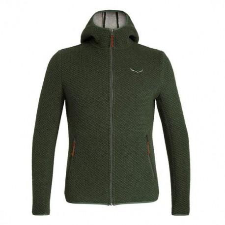 Salewa Giacca Alpinismo Woolen 2l Kombu Verde Uomo