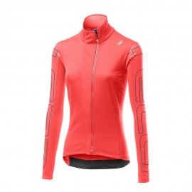Castelli Giacca Ciclismo Transition Rosa Donna