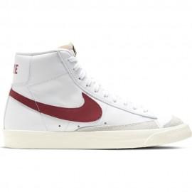 Nike Sneakers Blazer Mid '77 Vntg Bianco Rosso Bambino
