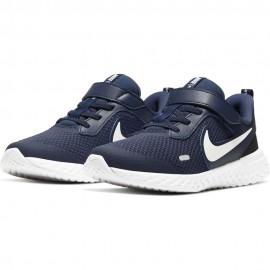 Nike Sneakers Revolution 5 Psv Blu Bianco Bambino