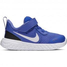 Nike Sneakers Revolution 5 Tdv Royal Bianco Bambino