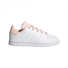 ADIDAS originals sneakers stan smith ps bianco rosa bambina