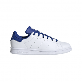 ADIDAS originals sneakers stan smith gs bianco blu bambino