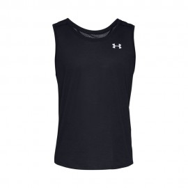 Under Armour Canotta Running Streaker 2.0 Nero Uomo