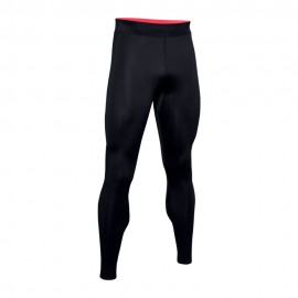 Under Armour Leggings Running Speedpkt Perfora Ti Nero Uomo
