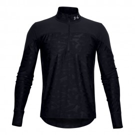 Under Armour Maglia Running Hzip Qualifier Stealth Nero Uomo