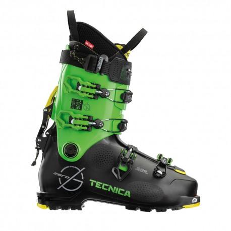 Tecnica Scarponi Sci Alpinismo Zero G Tour Scout Nero Verde Uomo