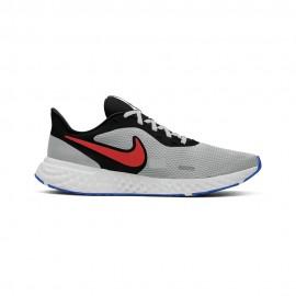 Nike Scarpe Running Revolution 5 Nero Rosso Uomo