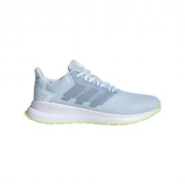 Adidas Scarpe Running Runfalcon Azzurro Lime Donna