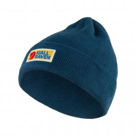 Fjallraven Berretto Logo Rettangolare Blu