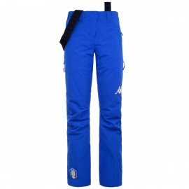 Kappa Pantaloni Sci Donna 6cento 665 Fisi Blu Donna