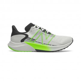 New Balance Scarpe Running Fuelcell Propel V2 Bianco Energy Lime Uomo