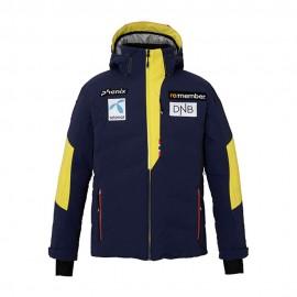 Phenix Giacca Sci Piuma Norway Alpine Team Blu Giallo Uomo