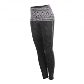 Newland Leggings Termici Meg Nero Rosa Donna